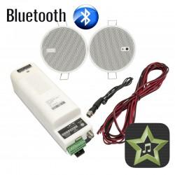 Eis Sound iSelect 2,5 STAR Głośniki Białe Bluetooth 50804