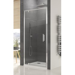 SanSwiss Ocelia Drzwi Prysznicowe OCEP 80 cm Szkło Przezroczyste OCEP0805007