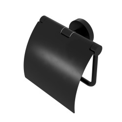Geesa Nemox Black Pojemnik na Papier Toaletowy Czarny 916508-06