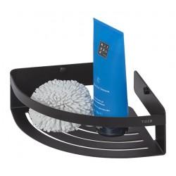 Tiger Caddy Koszyk Prysznicowy Narożny Czarny 1400430746