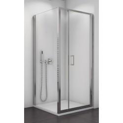 SanSwiss Top-Line Kabina Prysznicowa TOP31 NA WYMIAR Drzwi - (125-150 cm) Ścianka - (25-80 cm) Szkło Przezroczyste