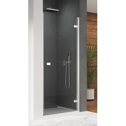 SanSwiss Escura Drzwi Prysznicowe Prawe ES1C 70 cm Szkło Przezroczyste ES1CD0705007+V.ESC.50