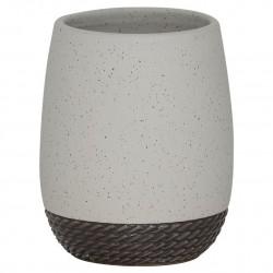 Sealskin Braid Light Grey Kubek na szczoteczki (362490411)