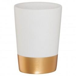 Sealskin Glossy Gold Kubek na szczoteczki (362320449)