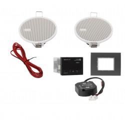 KB Sound Audio Receiver Odtwarzacz Bluetooth In-Wall Czarny Z Głośnikami 2.5 52958
