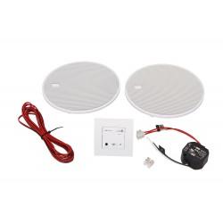 KB Sound Audio Receiver Odtwarzacz Bluetooth In-Wall Biały Z Głośnikami 2.5 52908