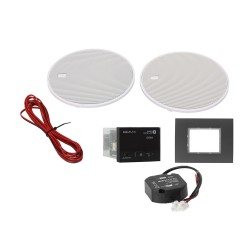 KB Sound Audio Receiver Odtwarzacz Bluetooth In-Wall Czarny Z Głośnikami 5 52959
