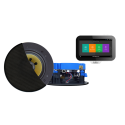 AquaSound N-Joy WI-FI Nagłośnienie do łazienki (MP3, RADIO INTERNETOWE, WI-FI, IPX6) IRS70X-CC (GŁOŚNIKI AKTYWNE CONGA 70W)