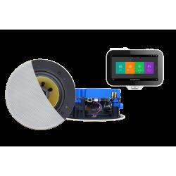 AquaSound N-Joy WI-FI Nagłośnienie do łazienki (MP3, RADIO INTERNETOWE, WI-FI, IPX6) IRS70X-CW (GŁOŚNIKI AKTYWNE CONGA 70W)