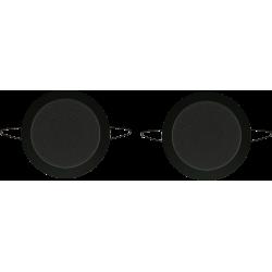 AquaSound Twist Głośniki Czarne Wilgocioodporne (2szt) SPKTwist135-C