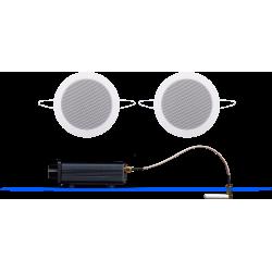 AquaSound Odtwarzacz Audio Bluetooth / AUX Z Głośnikami Twist BMN50Easy-TW