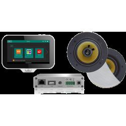 AquaSound N-Joy WI-FI Nagłośnienie do łazienki (MP3, RADIO INTERNETOWE, WI-FI, IPX6) EMC30X-RW (Głośniki Rumba)