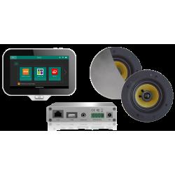 AquaSound N-Joy WI-FI Nagłośnienie do łazienki (MP3, RADIO INTERNETOWE, WI-FI, IPX6) EMC30X-RC (Głośniki Rumba)