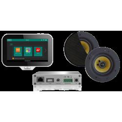 AquaSound N-Joy WI-FI Nagłośnienie do łazienki (MP3, RADIO INTERNETOWE, WI-FI, IPX6) EMC30X-RZ (Głośniki Rumba)