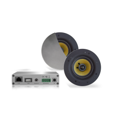 AquaSound Wzmacniacz Wi-Fi Z Głośnikami Chrom-Mat Rumba 45W WMA30-RC