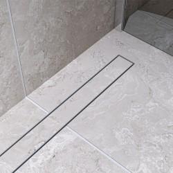 Bravat Odwodnienie prysznicowe Ceramic Steel Drain 600mm