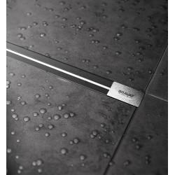 Bravat Odwodnienie prysznicowe Seamless Slim Steel Drain 750mm
