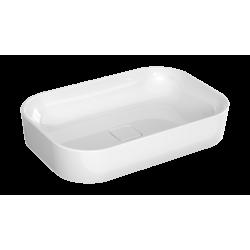 Bravat Umywalka nablatowa ceramiczna 60x40 cm (BVTCR-UN/SS-60X40)