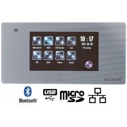 Dexon Odtwarzacz Ścienny Bluetooth Radio FM / USB / SD ze Wzmacniaczem (MRP 2200)