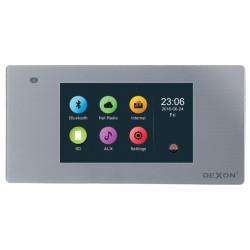 Dexon Odtwarzacz Ścienny Bluetooth, Wi-Fi - LAN Radio Internetowe /USB/SD ze Wzmacniaczem (MRP 2201)