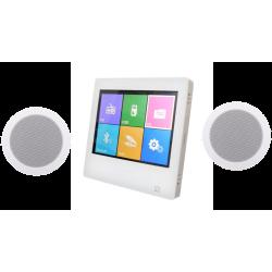 Dexon Odtwarzacz Ścienny Bluetooth / Radio FM ze Wzmacniaczem + Głośniki Twist (MRP 2181)