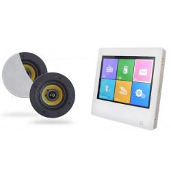 Dexon Odtwarzacz Ścienny Bluetooth / Radio FM ze Wzmacniaczem + Głośniki COCO (MRP 2181+COCO)