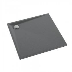 Schedline Collection Libra Anthracite Stone Brodzik Akrylowy 90x90 (3SP.L2K-9090)