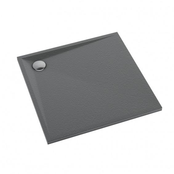 Schedline Collection Libra Anthracite Stone Brodzik Akrylowy 80x80 (3SP.L2K-8080)