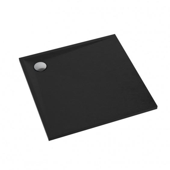 Schedline Collection Libra Black Stone Brodzik Akrylowy 80x80 (3SP.L6K-8080)
