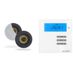 Dexon Odtwarzacz Ścienny Bluetooth / Radio FM z Głośnikami COCO (MRP 2171+COCO)