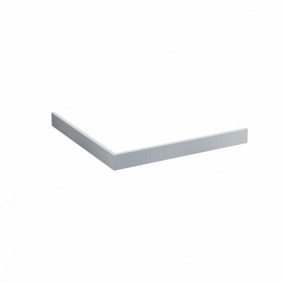 Schedline Collection Panele niskie (wys. 9 cm) do brodzika kwadratowego (5P.K-100100/9)