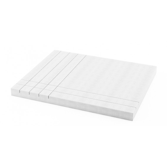 Schedline Collection Panele niskie (wys. 9 cm) do brodzika prostokątnego (5P.P-7080/9 )