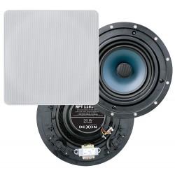 Dexon Dwudrożny Sufitowy Głośnik Kwadratowy 6.5' 30W z Transformatorem (RPT 110x110)