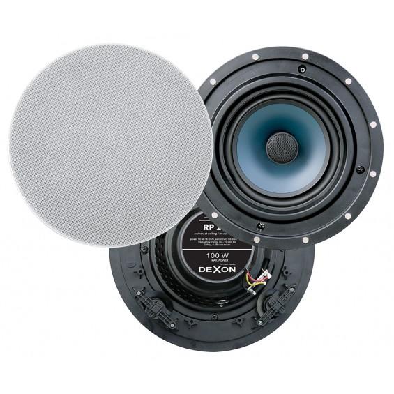 Dexon Dwudrożny Sufitowy Głośnik 6.5' 100W (RP 110)