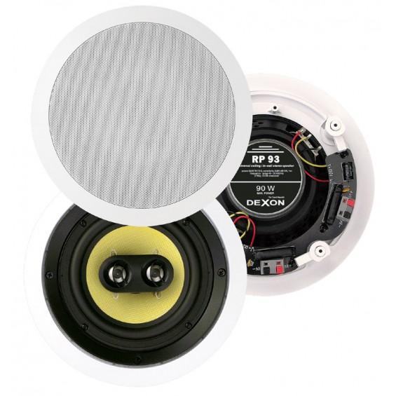 Dexon Głośnik Sufitowy Stereo 6.5' Okrągły 45W (RP 93)
