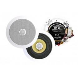 Dexon Głośnik Sufitowy z Transformatorem Dwudrożny 80W (RP 91)