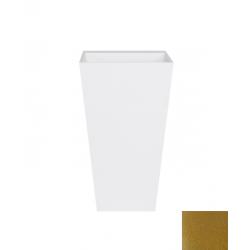 Besco Vera Glam Złota Umywalka Wolnostojąca 50 cm