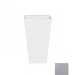 Besco Vera Glam Umywalka Wolnostojąca Srebrna 50 cm